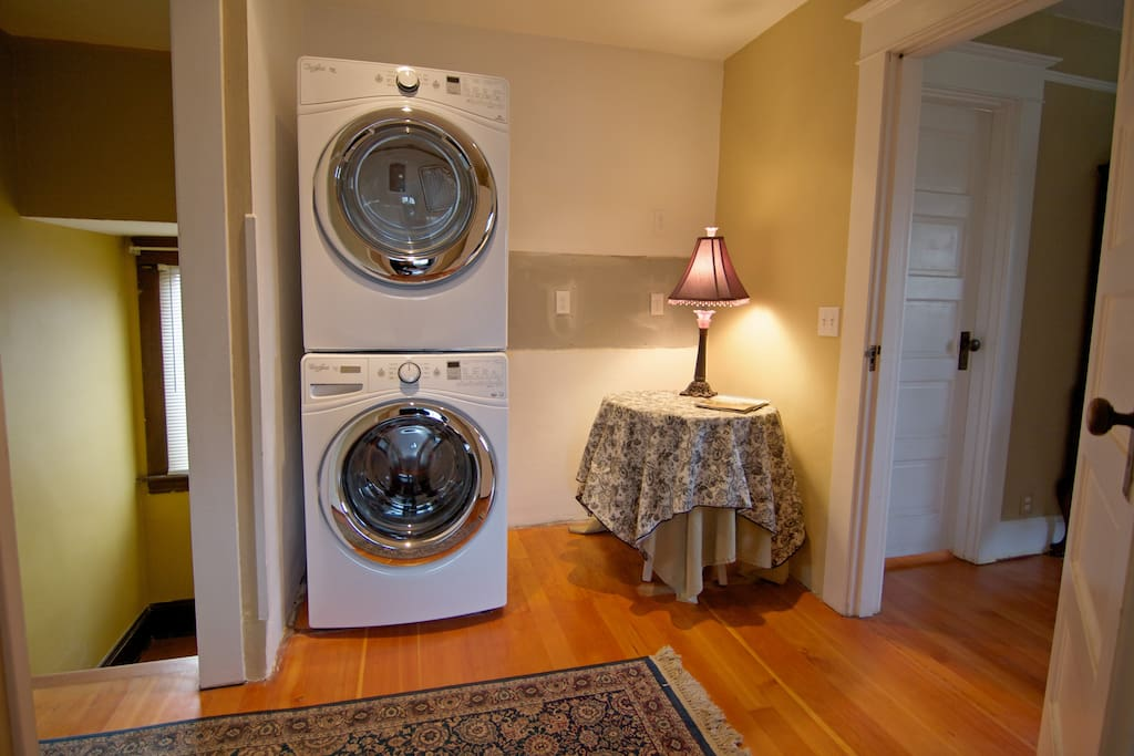 New Laundry and charging station!
