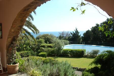 La Piccionaia-villa with sea view and private pool - Ansedonia - Villa