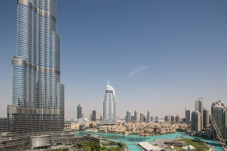 Perfect Location and View! Near Burj Khalifa! - Dubai - Wohnung