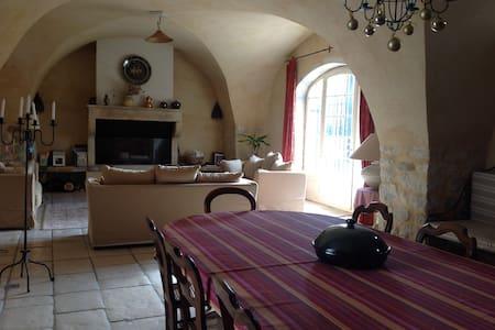 Vacances dans mas provençal 10/12 p - Haus