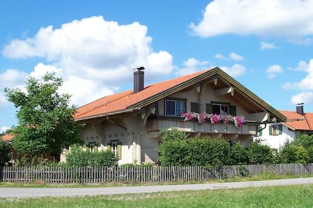 Bavarian  alpin loghouse - Apartament
