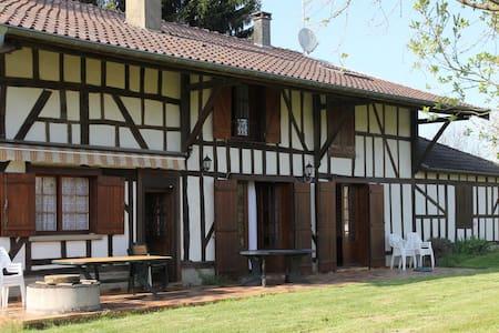 Grande maison champenoise pour 14p - Louze - House