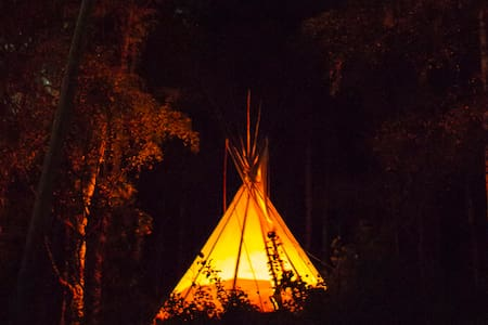 Teepee on a eco farm- B&B Skifterud - Tipi