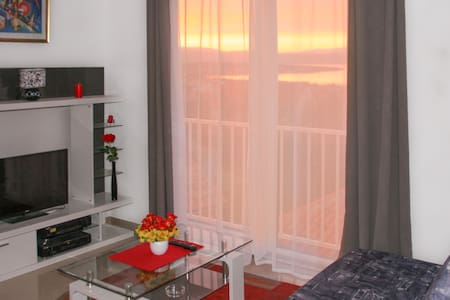 Malinska, apartment Dusko, sea view - Apartament
