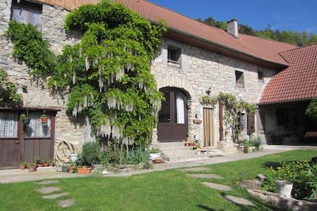 Le Pellenfrey, Maison du Bonheur -  Chambre LYS - Pensione