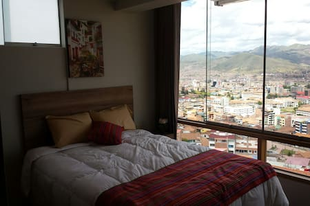 Departamento con vista a la ciudad - Cusco - Apartment