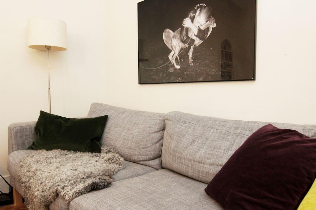 Pretty Hausmann flat in Marais