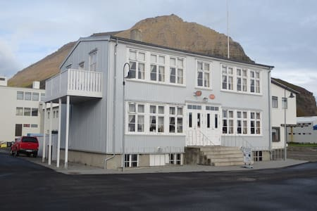 Einarshúsið is the most beautiful house in town.The house has been renovated in the spirit of the year 1902 and has a great atmosphere.