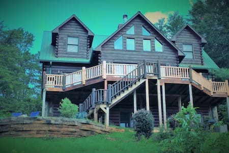 TOTALLY Private 5BR Lodge w/Captivating Views - Ellijay - House