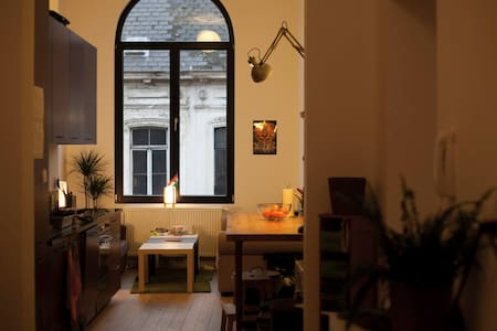 Great Room in a Great Flat - Ixelles - Lejlighed
