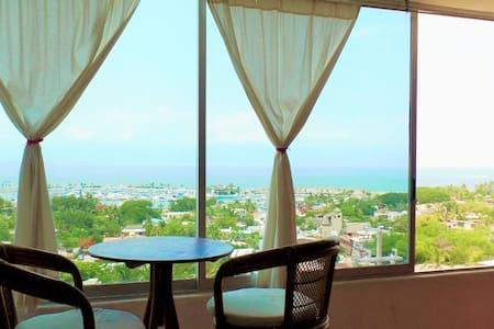 2Bedroom Condo Magnificent View of the Bay! - La Cruz de Huanacaxtle - Apartment