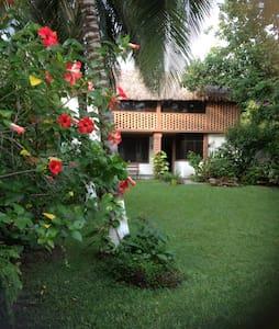 Nice private gated home near beach! - House