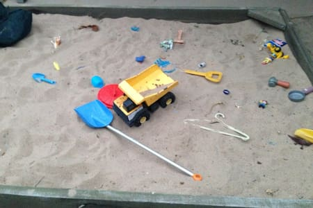 Happy house with sand pit :-) - Dom