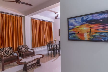 Tusti Homestay - Two bedroom bungalow with kitchen - Guwahati - Bed & Breakfast