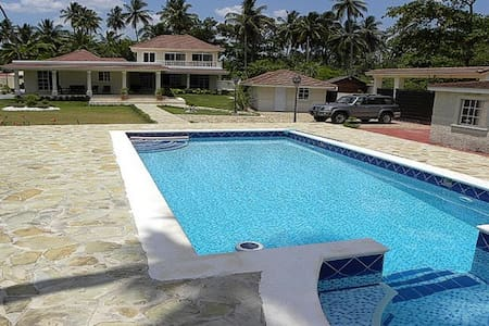 4 bedroom quiet villa close to activities - Gaspar Hernandez - Villa