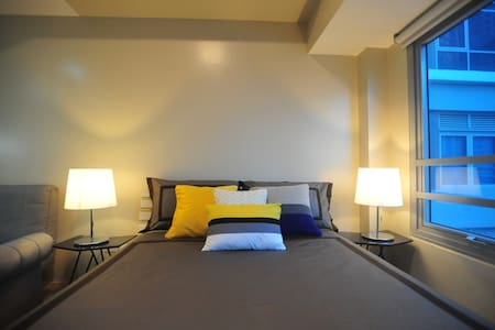 Cozy place to stay at the heart of Eastwood City - Quezon City - Lyxvåning