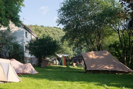 Groot vakantiehuis met extra tenten - Pfaffenseifen, Birkenbeul - Haus