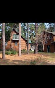 Beautiful rustic log cabin - Hawkins - Chalet