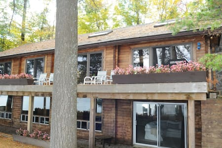 Beautiful Log Cottage, Lake Muskoka,Walker's Point - Muskoka Lakes - Blockhütte