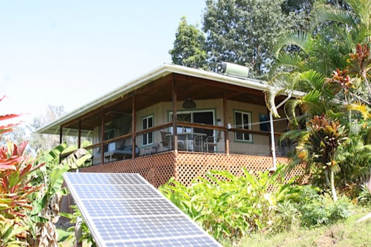Your private farm cottage. 100% solar. Your stay will be Green.