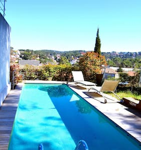 Floresta villa just 15min from Bcn!