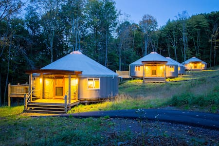 Yurt glamping at Savage River Lodge - Yurt