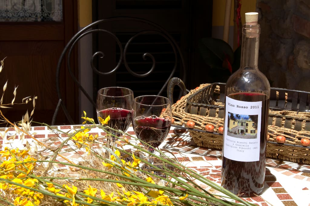 Relax & Love in Tuscany: With a little present for you! ....A Bottle of Chianti Wine and ....