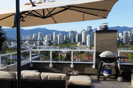 Modern townhome with rooftop patio - Vancouver - Townhouse