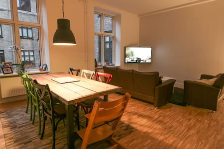 Big, light central apartment - Copenhague