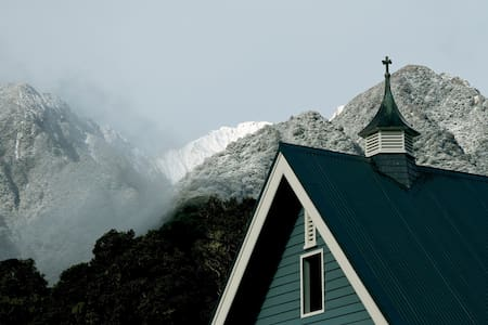 The Church at FOX  - Fox Glacier - Casa