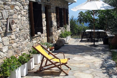 Beautiful Eco Villa in Pelion - Potistika - Rekkehus