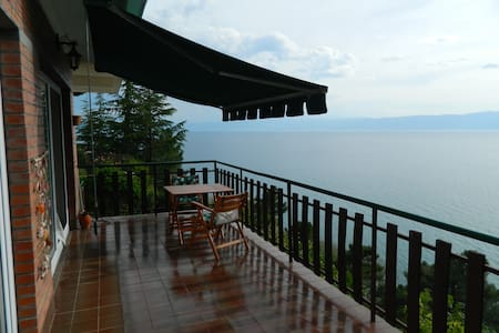 Modern apartment with stunning view - Ohrid - Pis