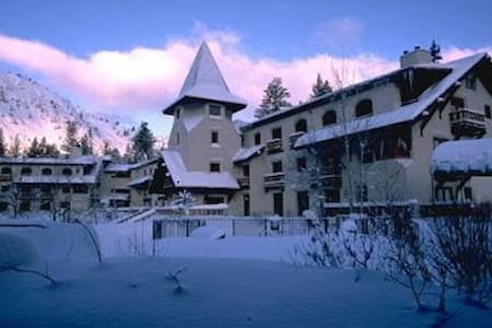 Cozy 2br Ski Condo at the Olympic  Village Inn - Olympic Valley - Ortak mülk