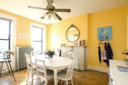 Small tidy bedroom in duplex