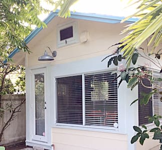 Built in 1925 this 750 squarefoot Charmer is the perfect place to get out of the cold! Coverted from 1 bedroom to Open Concept you will love space and the amazing pool.  Dogs welcome as long as you pick up!