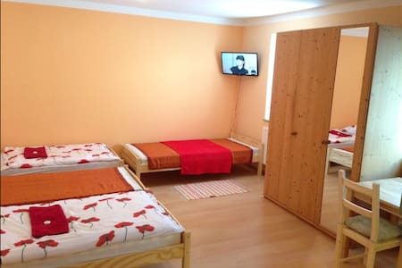 Flat near by bus and train station - Apartment