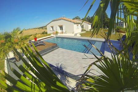Maison avec piscine proche Toulouse - Huis