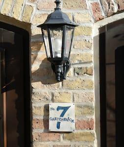 Ferienwohnung Nuthetal Gartenblick - Nuthetal - Apartment