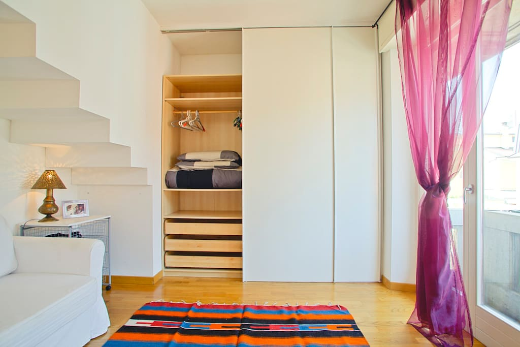 Nice Loft close to (website hidden) Como Milan