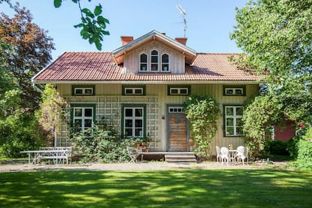 Historical farmhouse in the woods - Mariestad - Haus