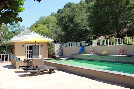 Charming Guest House near Stanford - Los Altos Hills - Cabin