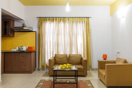Central and family friendly 1 BHK in Bangalore - Oda + Kahvaltı