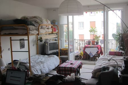 Big Studio 35 m2 + Balcony 35 mins from Paris (3) - Lyxvåning