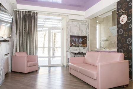 Stylish apt,center,private terrace - Charkiw