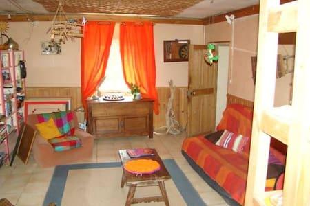 chambre dans maison avec jardin - Saint-Martin-de-Valgalgues - Haus