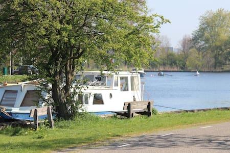 Romantic boat near Amsterdam - Hajó