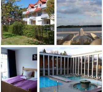 Ferienwohnung 30m bis Saarow Therme - Apartament