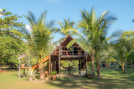 Surf Cabin in the Jungle - Puerto Jiménez - Cabanya