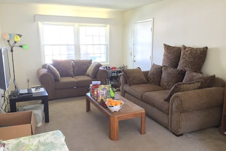 Private Rm w/ full bed near campus - Apartment