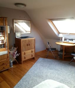 LARGE LOFT ROOM&PARKING nr CENTRE - House